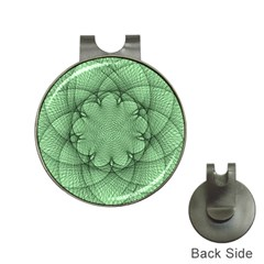 Spirograph Hat Clip With Golf Ball Marker by Siebenhuehner