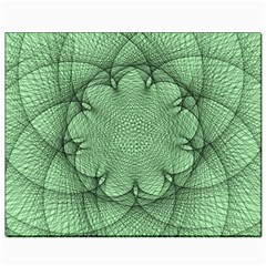 Spirograph Canvas 8  X 10  (unframed) by Siebenhuehner