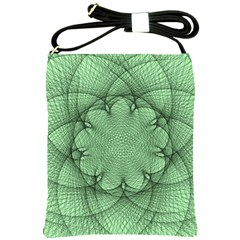 Spirograph Shoulder Sling Bag by Siebenhuehner