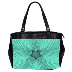 Spirograph Oversize Office Handbag (two Sides) by Siebenhuehner
