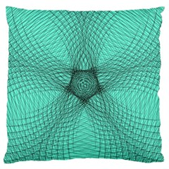 Spirograph Large Cushion Case (single Sided)  by Siebenhuehner