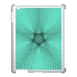 Spirograph Apple iPad 3/4 Case (White) Front