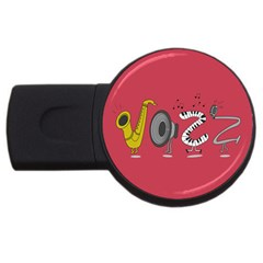 Jazz 4gb Usb Flash Drive (round)