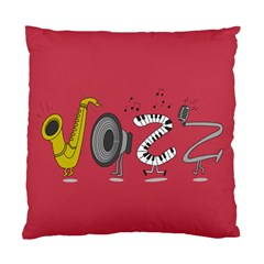 Jazz Cushion Case (single Sided)  by PaolAllen2