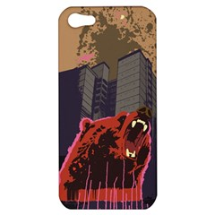 Urban Bear Apple Iphone 5 Hardshell Case by Contest1738792