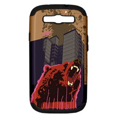 Urban Bear Samsung Galaxy S Iii Hardshell Case (pc+silicone) by Contest1738792