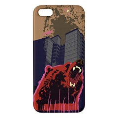 Urban Bear Iphone 5s Premium Hardshell Case by Contest1738792