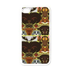 Leaders Of The Forest Apple Iphone 4 Case (white)