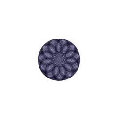 Spirograph 1  Mini Button Magnet by Siebenhuehner