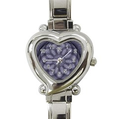 Spirograph Heart Italian Charm Watch  by Siebenhuehner