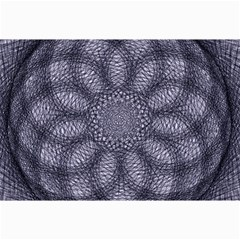 Spirograph Canvas 12  X 18  (unframed) by Siebenhuehner