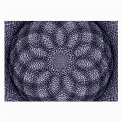 Spirograph Glasses Cloth (large) by Siebenhuehner