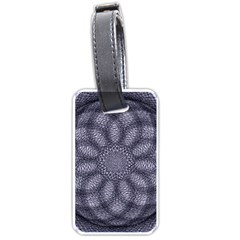 Spirograph Luggage Tag (two Sides) by Siebenhuehner