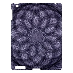 Spirograph Apple Ipad 3/4 Hardshell Case by Siebenhuehner