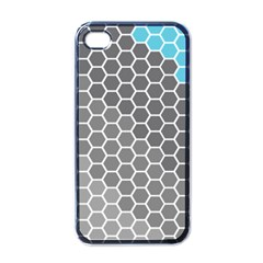 Hexagon Waves Apple Iphone 4 Case (black)