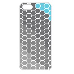 Hexagon Waves Apple Iphone 5 Seamless Case (white)