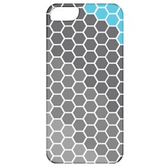 Hexagon Waves Apple Iphone 5 Classic Hardshell Case by ContestDesigns