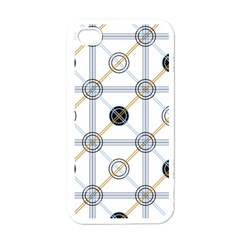 Circle Connection Apple Iphone 4 Case (white) by ContestDesigns