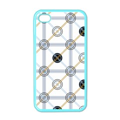 Circle Connection Apple Iphone 4 Case (color) by ContestDesigns