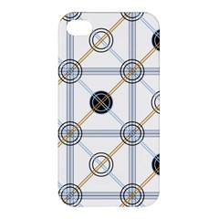 Circle Connection Apple Iphone 4/4s Hardshell Case by ContestDesigns