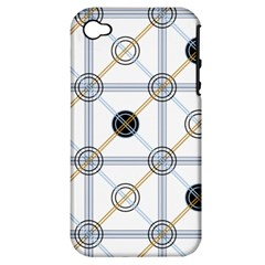 Circle Connection Apple Iphone 4/4s Hardshell Case (pc+silicone) by ContestDesigns