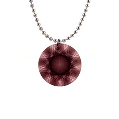 Spirograph Button Necklace by Siebenhuehner