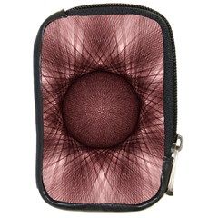 Spirograph Compact Camera Leather Case by Siebenhuehner