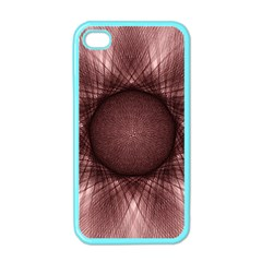 Spirograph Apple Iphone 4 Case (color) by Siebenhuehner
