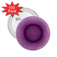 Spirograph 2 25  Button (100 Pack) by Siebenhuehner