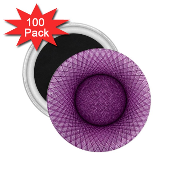 Spirograph 2.25  Button Magnet (100 pack)