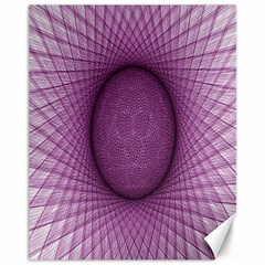 Spirograph Canvas 11  X 14  (unframed) by Siebenhuehner