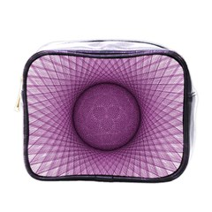 Spirograph Mini Travel Toiletry Bag (one Side) by Siebenhuehner