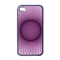 Spirograph Apple Iphone 4 Case (black) by Siebenhuehner