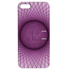 Spirograph Apple Iphone 5 Hardshell Case With Stand by Siebenhuehner