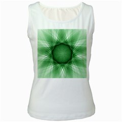 Spirograph Womens  Tank Top (white) by Siebenhuehner