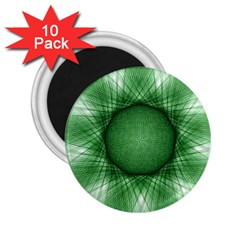 Spirograph 2 25  Button Magnet (10 Pack) by Siebenhuehner