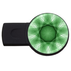 Spirograph 2gb Usb Flash Drive (round) by Siebenhuehner