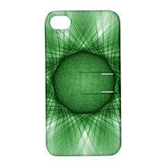 Spirograph Apple Iphone 4/4s Hardshell Case With Stand by Siebenhuehner