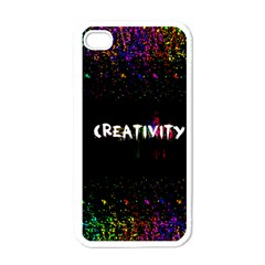 Creativity  Apple Iphone 4 Case (white) by TheTalkingDead