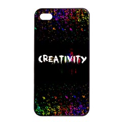 Creativity  Apple Iphone 4/4s Seamless Case (black) by TheTalkingDead