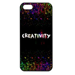 Creativity  Apple Iphone 5 Seamless Case (black) by TheTalkingDead
