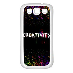 Creativity  Samsung Galaxy S3 Back Case (white) by TheTalkingDead