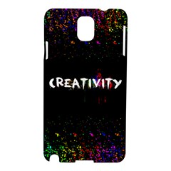 Creativity  Samsung Galaxy Note 3 N9005 Hardshell Case by TheTalkingDead