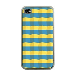 Beach Feel Apple Iphone 4 Case (clear) by ContestDesigns