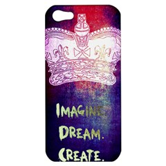 Imagine  Dream  Create  Apple Iphone 5 Hardshell Case by TheTalkingDead