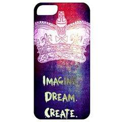 Imagine  Dream  Create  Apple Iphone 5 Classic Hardshell Case by TheTalkingDead