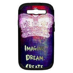 Imagine  Dream  Create  Samsung Galaxy S Iii Hardshell Case (pc+silicone) by TheTalkingDead
