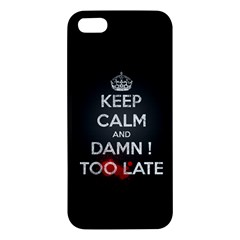 Too Late ! Iphone 5 Premium Hardshell Case
