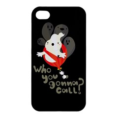 Who You Gonna Call Apple Iphone 4/4s Premium Hardshell Case by Contest1771913