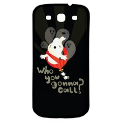 Who You Gonna Call Samsung Galaxy S3 S Iii Classic Hardshell Back Case by Contest1771913